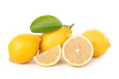 Lemon isolate on white background Royalty Free Stock Photography