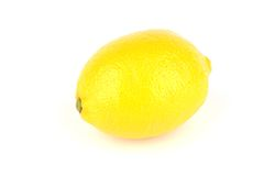 Lemon isolated Stock Images