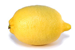 Lemon isolated. On white background Royalty Free Stock Photos