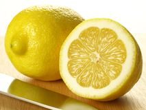 Lemon, isolated, close up Royalty Free Stock Photography