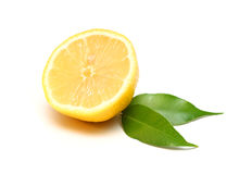 Lemon isolated on white Stock Images