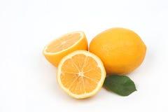 Lemon isolated on white background Royalty Free Stock Photo