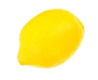 Lemon. Isolated on a white background Royalty Free Stock Photo