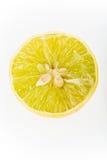 Lemon isolated on white background Stock Images