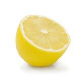 Lemon isolated on white background Stock Photos