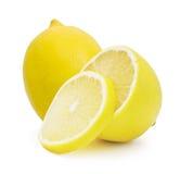 Lemon isolated on white background Stock Photography