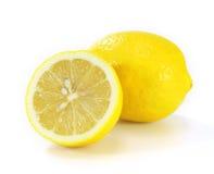 Lemon isolated on white Stock Photos