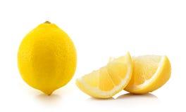 Lemon isolated on white background Stock Image