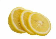 Lemon isolated on white background. Ripe yellow lemon isolated on white background Stock Photography
