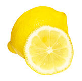 Lemon and its half Royalty Free Stock Photography
