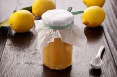 Lemon Jam Royalty Free Stock Images