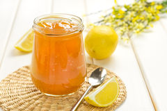 Lemon jam Stock Images