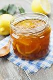Lemon jam Stock Images