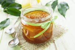 Lemon jam Royalty Free Stock Images
