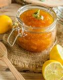 Lemon jam homemade Stock Image