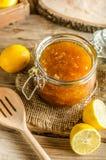 Lemon jam homemade Royalty Free Stock Photos