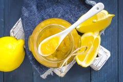 Lemon jam. In a jar Stock Image