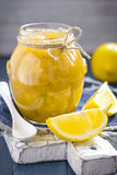 Lemon jam Stock Photo