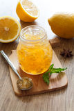 Lemon jam Royalty Free Stock Image