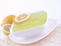 Lemon jelly Royalty Free Stock Image