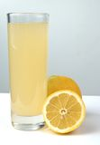 Lemon juice Royalty Free Stock Images