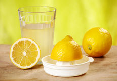 Lemon juice Royalty Free Stock Photography