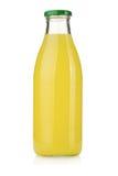 Lemon juice bottle Royalty Free Stock Photo