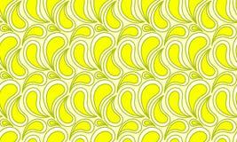 Lemon Juice Drops Seamless Texture vector illustration
