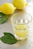 Lemon juice Stock Image