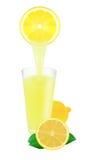 Lemon juice Royalty Free Stock Photo