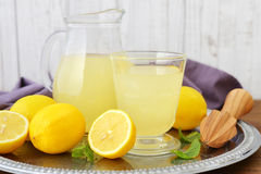 Lemon juice Royalty Free Stock Photo