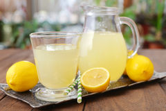 Lemon juice Stock Photos
