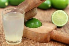 Lemon juice with Fruit Juicer Stock Photography