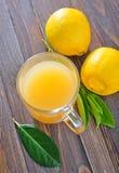 Lemon juice Stock Photography
