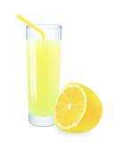 Lemon juice Royalty Free Stock Photography