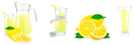 Lemon juice and meter Stock Images