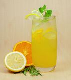 Lemon juice Royalty Free Stock Photos