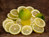 Lemon juicer Stock Images