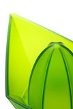 Lemon juicer (macro). Abstract picture of green lemon juicer (Clipping path included Stock Photos