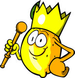 Lemon king Royalty Free Stock Photography