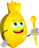 Lemon king Stock Image