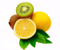 Lemon Kiwi Stock Image