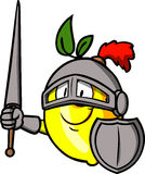 Lemon knight Royalty Free Stock Image