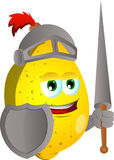Lemon knight Stock Image