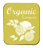 Lemon Label Stock Image