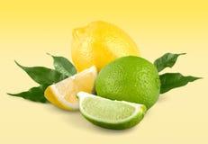 Lemon. Lime acid yellow citric closeup citron stock photo