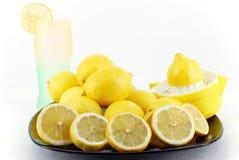 Lemon and lemonade Royalty Free Stock Image