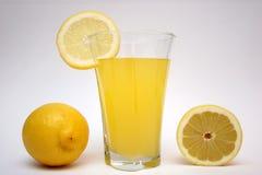 LEMON,LEMONADE. Lemon and lemonade in isolated stock photography