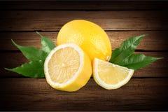 Lemon. Lime acid yellow citric closeup citron royalty free stock photos