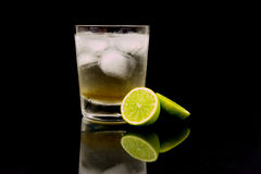 Lemon Lime & Bitters Royalty Free Stock Photos